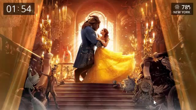 beauty and the beast live wallpapers